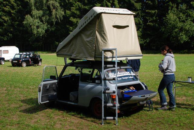 Dachzelt Gebraucht : Mini dachzelt falterladen