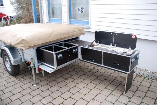 Staukasten und Küche