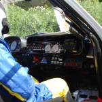 Der Beifahrer hat alles unter Kontrolle