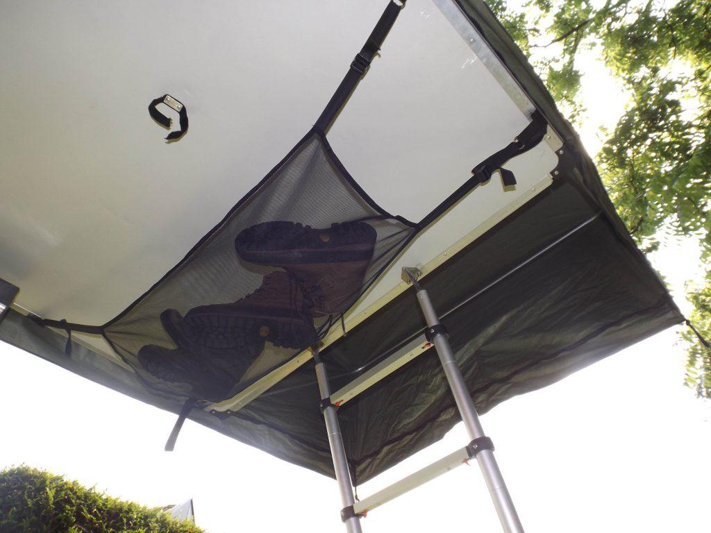 Gepäcknetz für Dachzelte